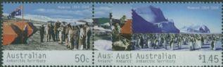 AAT SG164a-7 50th Anniversary of Mawson Station set of 4 including pair